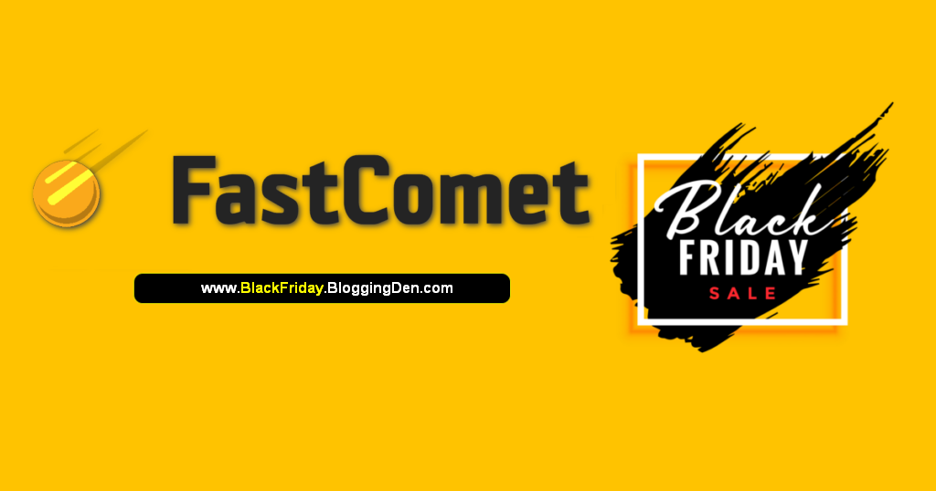 FastComet black friday deal 2020