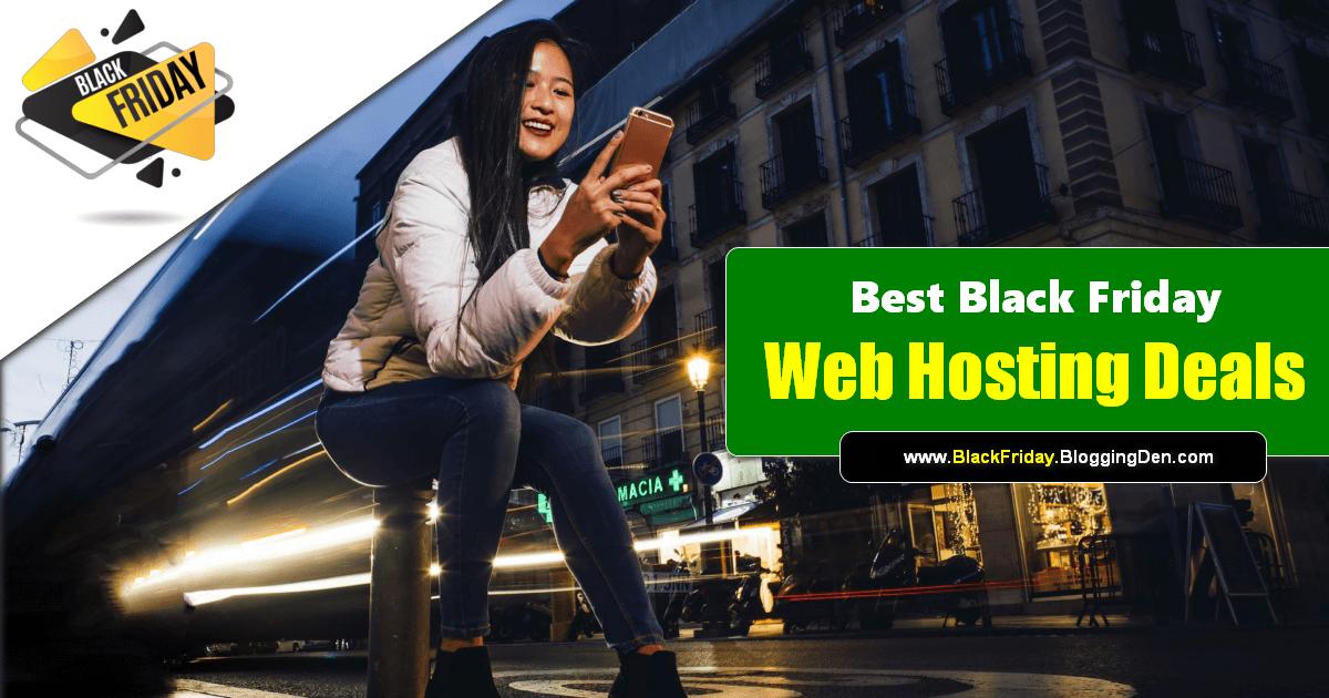 best black friday web hosting deals 2020