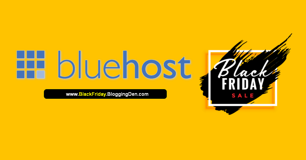 bluehost black friday deal 2020