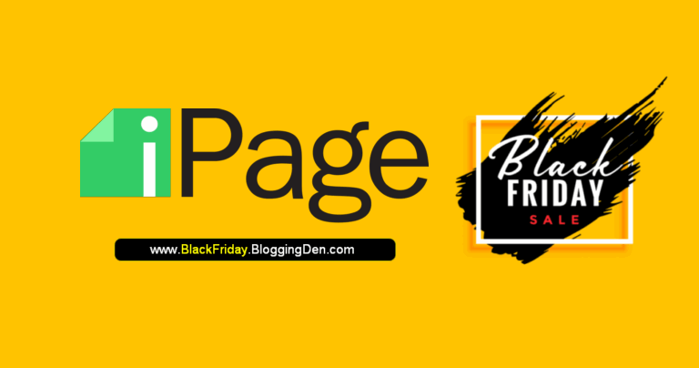 ipage black friday deals 2020