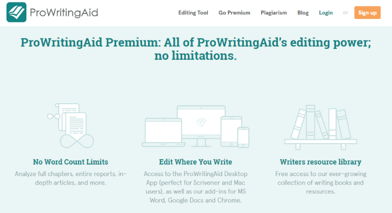 prowritingaid homepage
