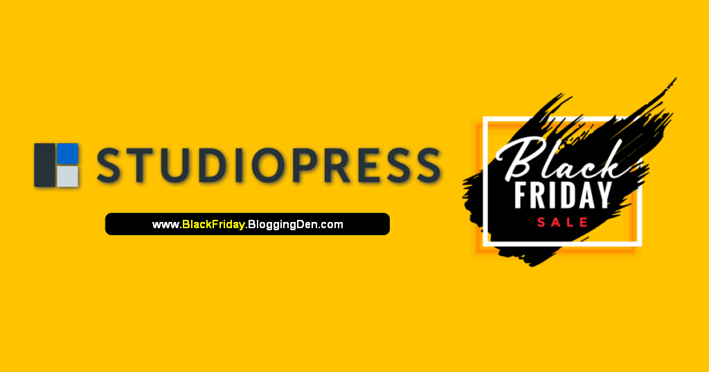 studiopress black friday 2020