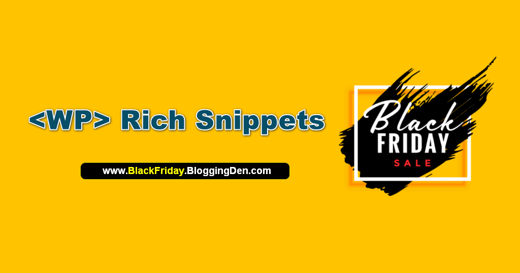 wprichsnippets black friday deal