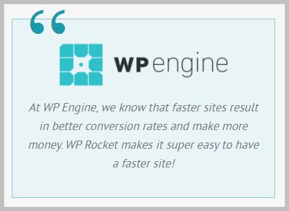 wp rocket reviews wpengine