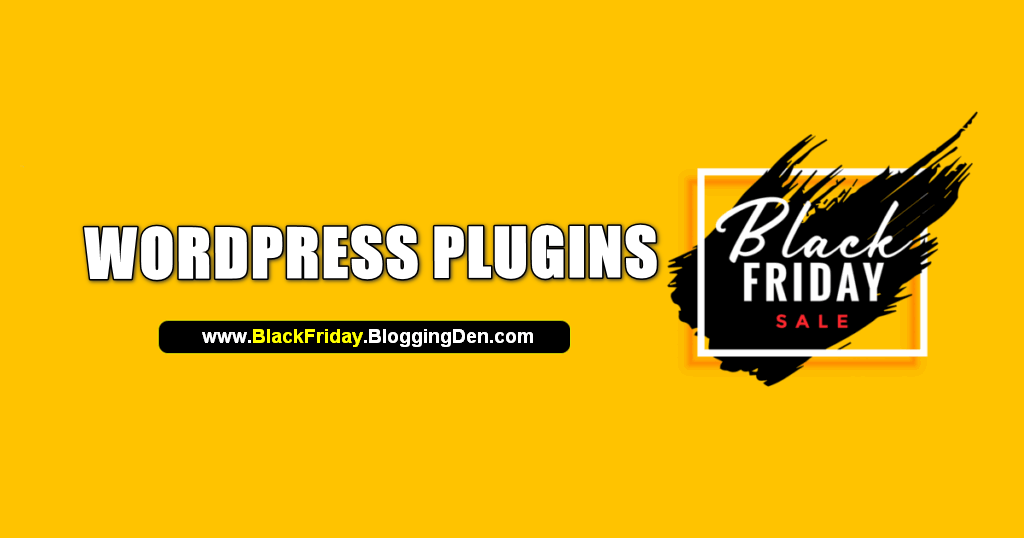 Wordpress plugins black friday deals