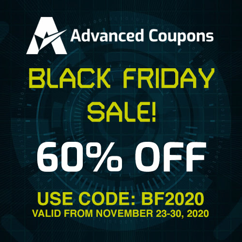 advanced coupons black friday