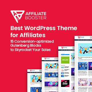 best affiliate booster theme