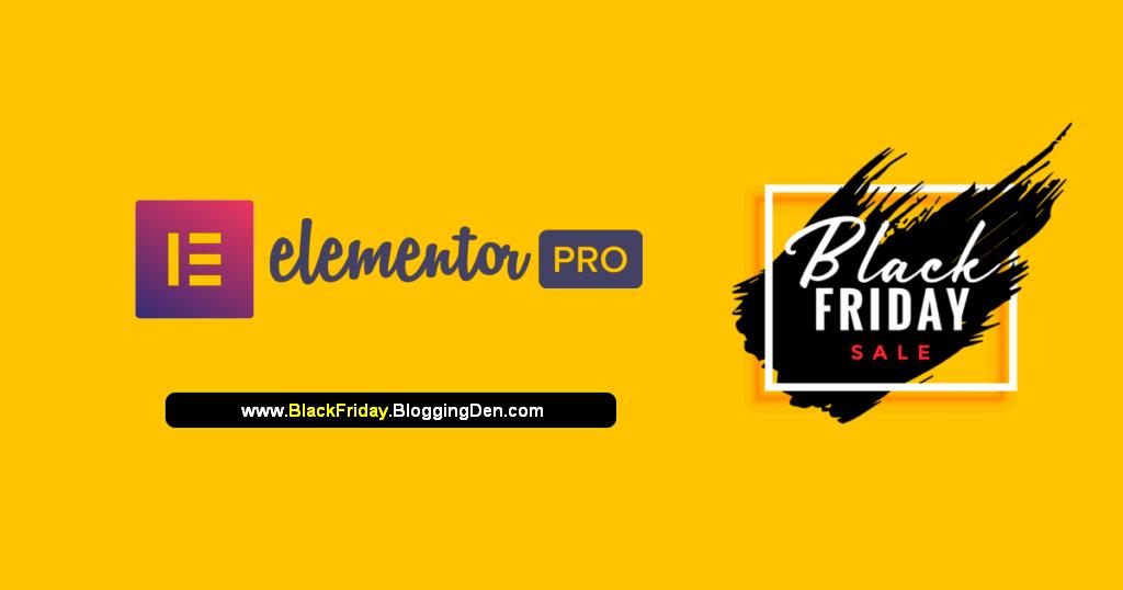 elementor black friday Cyber Monday deals